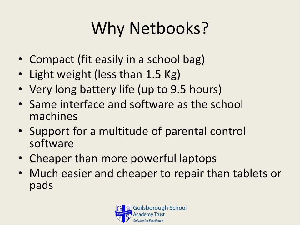 Why Netbooks.