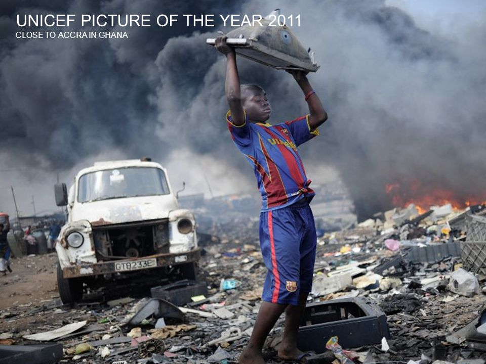 UNICEF PICTURE OF THE YEAR 2011 CLOSE TO ACCRA IN GHANA