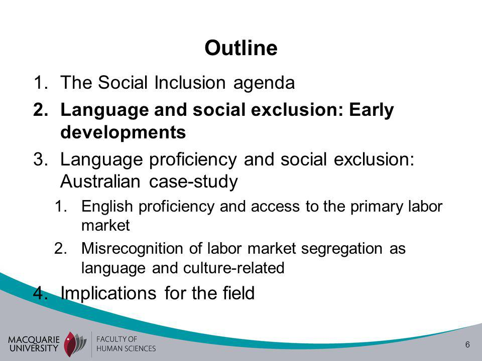 7 Early developments Bilingualism as an obstacle to social inclusion The monolingual bias of institutions produces social exclusion Proficiency in the language of the destination country is the most important predictor of immigrant earning potential