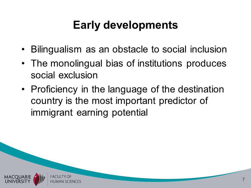 28 Linguistic and cultural ways of seeing diversity Render people and their differential linguistic capital invisible Render inequalities, discrimination and socio- economic exclusion invisible