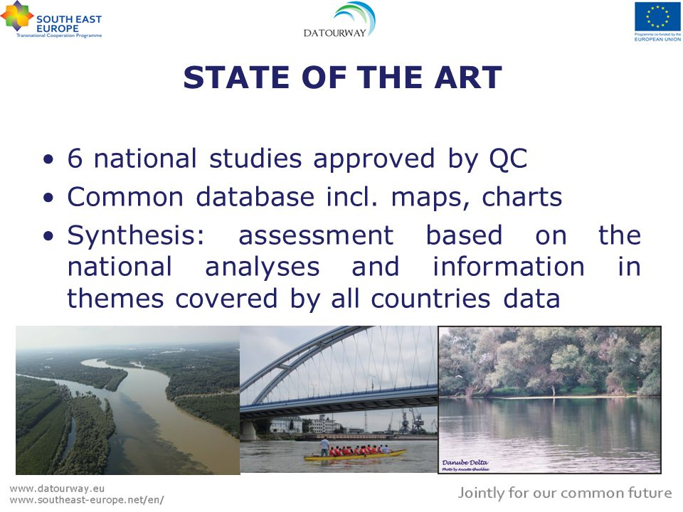 STATE OF THE ART 6 national studies approved by QC Common database incl.