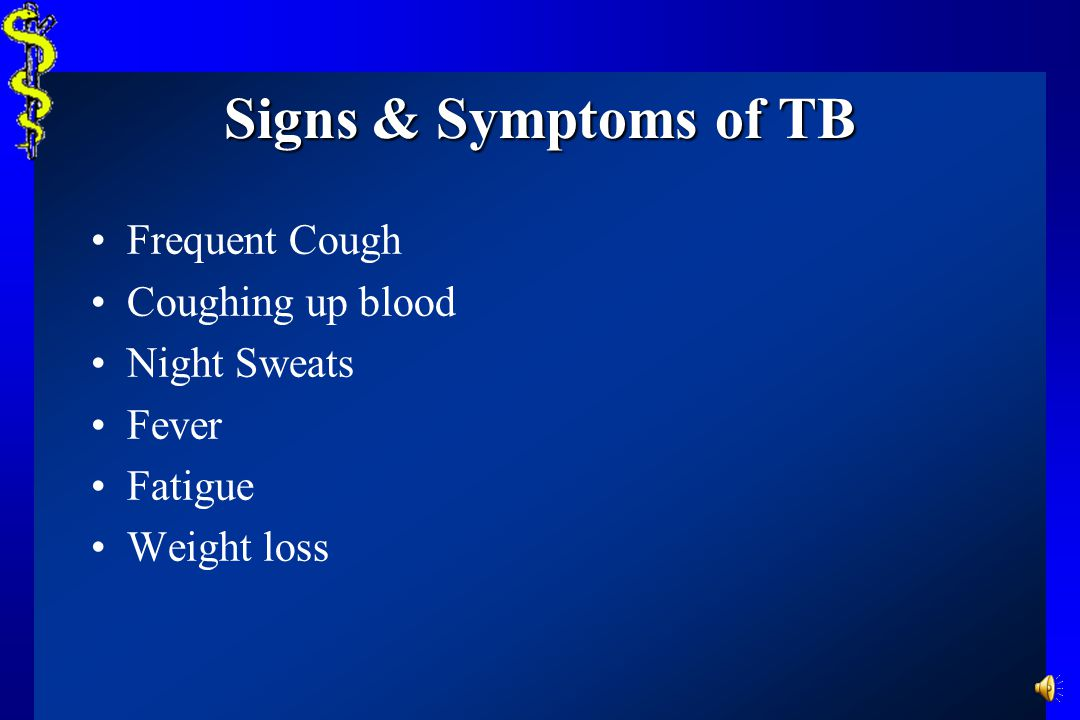 Tuberculosis High Risk Groups Contacts of known TB patients Elderly; chronically ill Immunosuppressed Foreign born, especially Asian, African, or Lati
