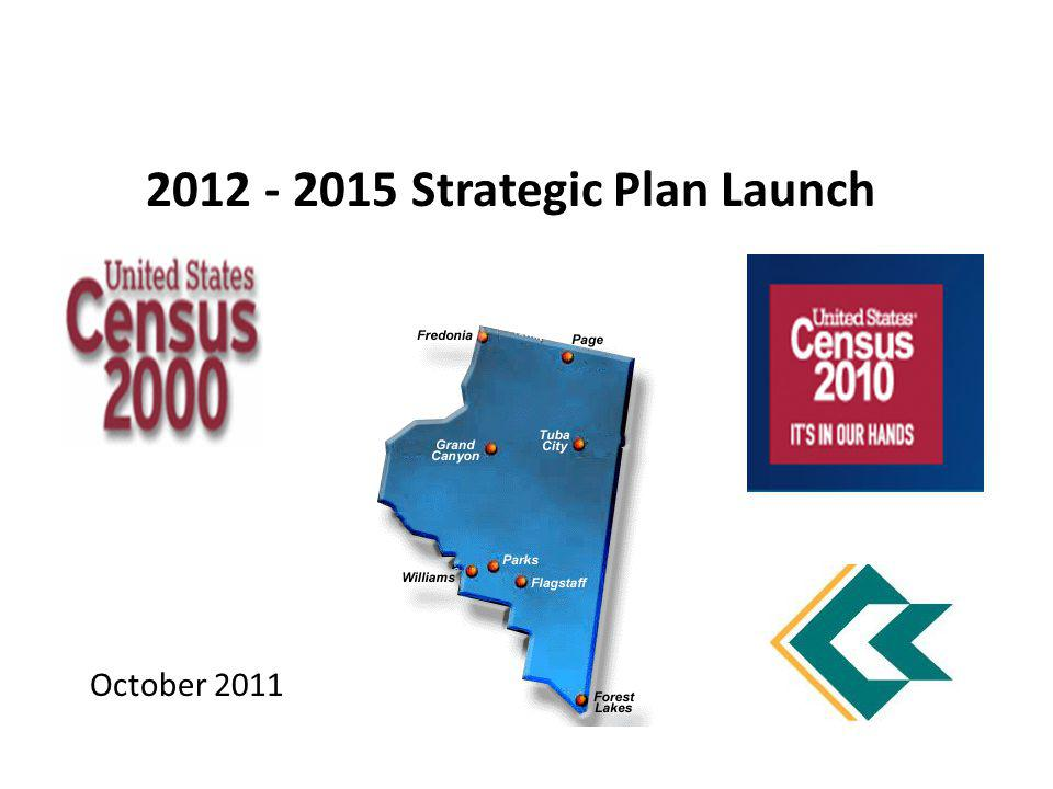 October 2011 2012 - 2015 Strategic Plan Launch