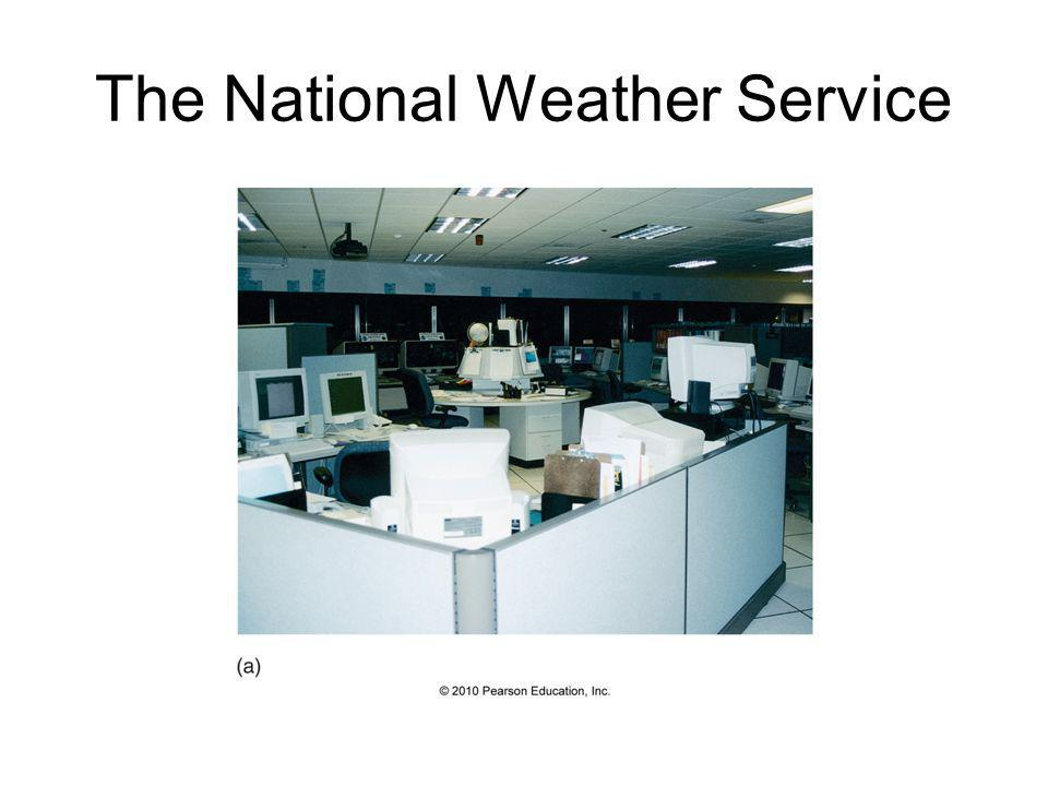 Numerical Weather Prediction – The Prediction Phase NWP can be classified in 2 ways: 1) Deterministic – a single forecast is produced and relied upon
