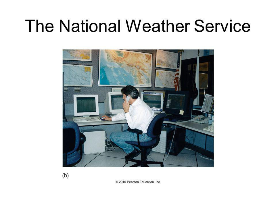 Numerical Weather Prediction – The Prediction Phase NWP can be classified in 2 ways: 1) Deterministic – a single forecast is produced and relied upon 2) Probabilistic – many forecasts are produced and forecast probabilities can be generated (ensemble forecasting)