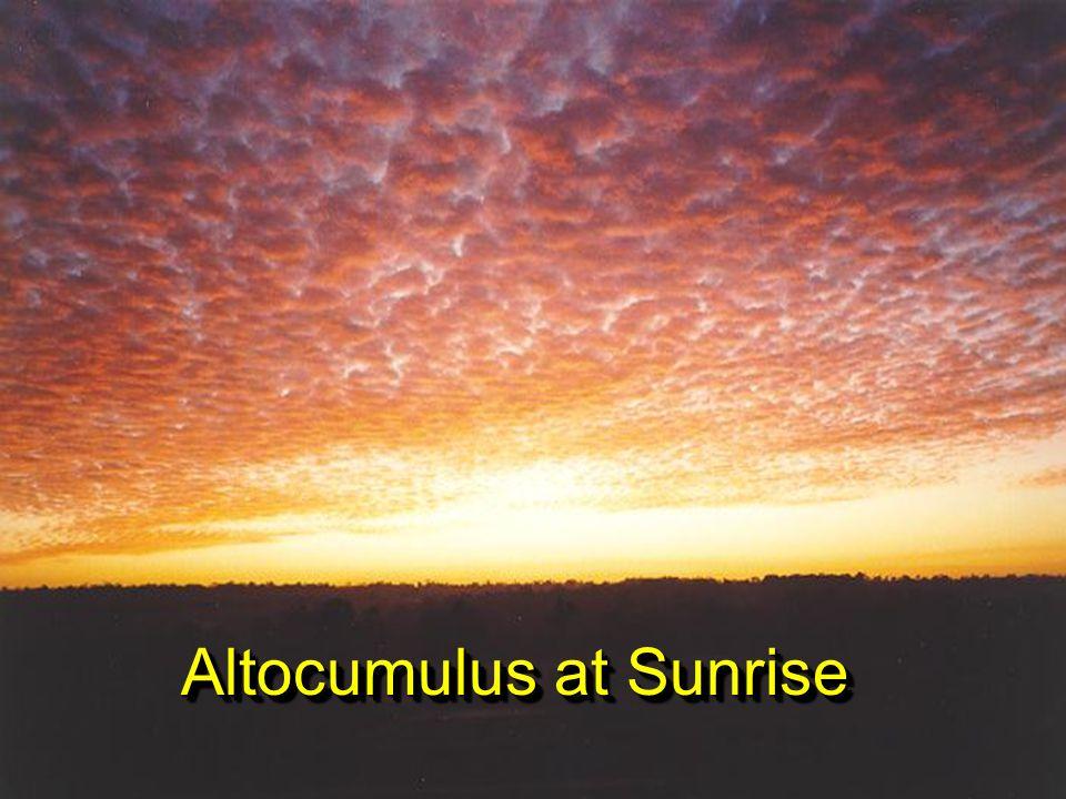 AltocumulusAltocumulus Mackerel sky