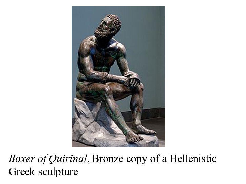 Boxer of Quirinal, Bronze copy of a Hellenistic Greek sculpture