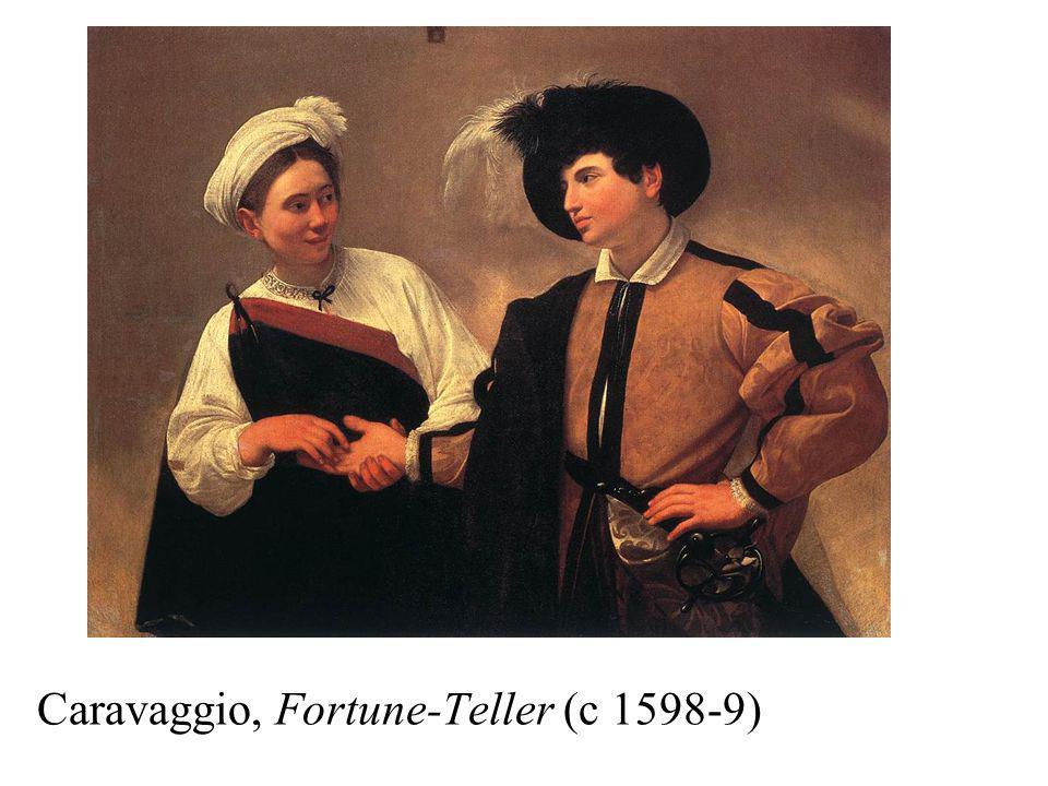 Caravaggio, Fortune-Teller (c 1598-9)