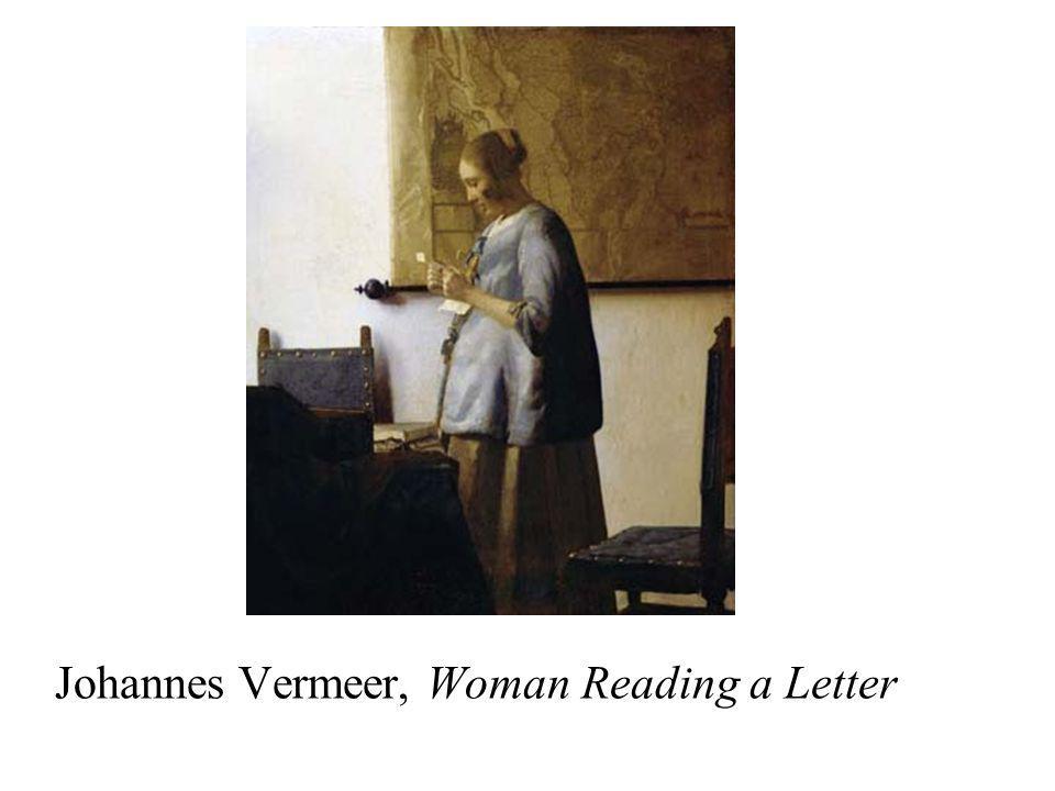 Johannes Vermeer, Woman Reading a Letter