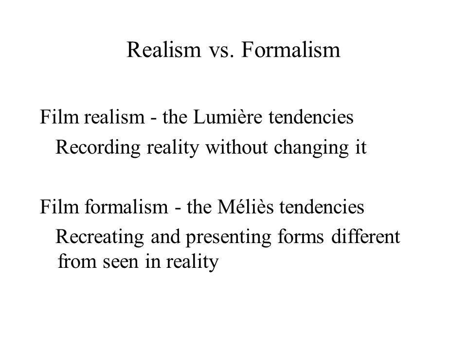 Realism vs.
