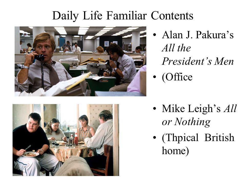 Daily Life Familiar Contents Alan J.