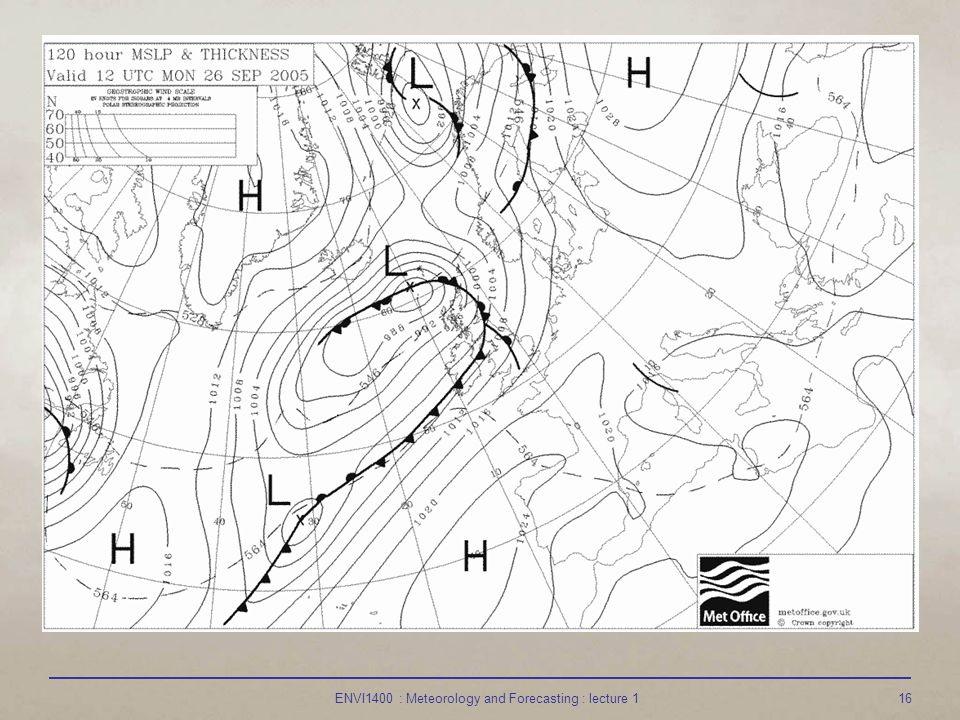 ENVI1400 : Meteorology and Forecasting : lecture 116