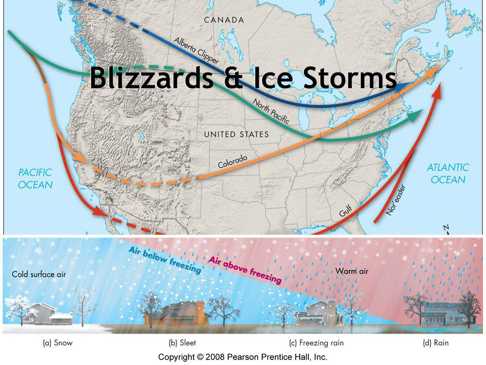 Blizzards & Ice Storms