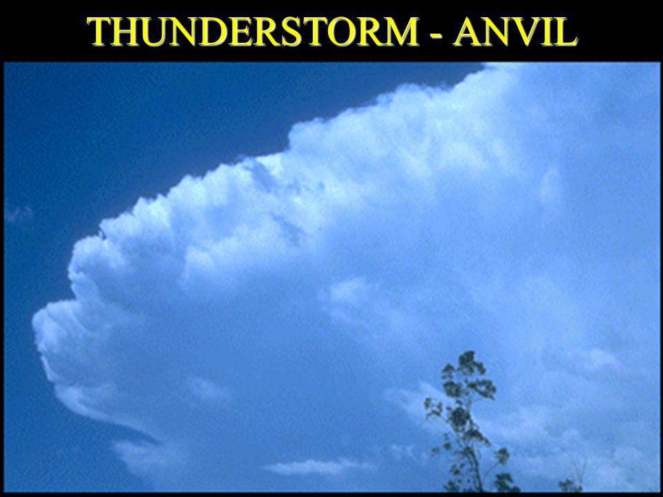 THUNDERSTORM - ANVIL