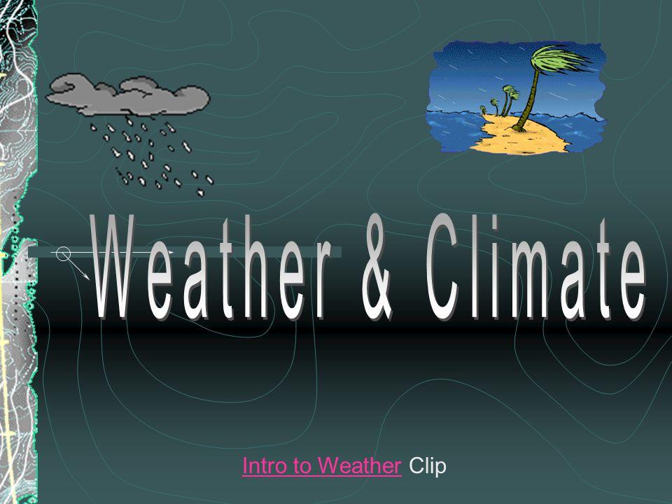 Intro to WeatherIntro to Weather Clip