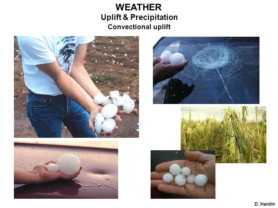 D. Hardin Uplift & Precipitation Convectional uplift WEATHER