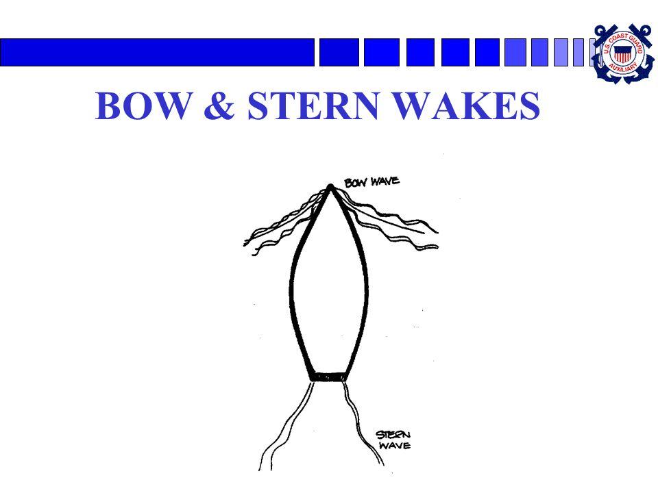 BOW & STERN WAKES