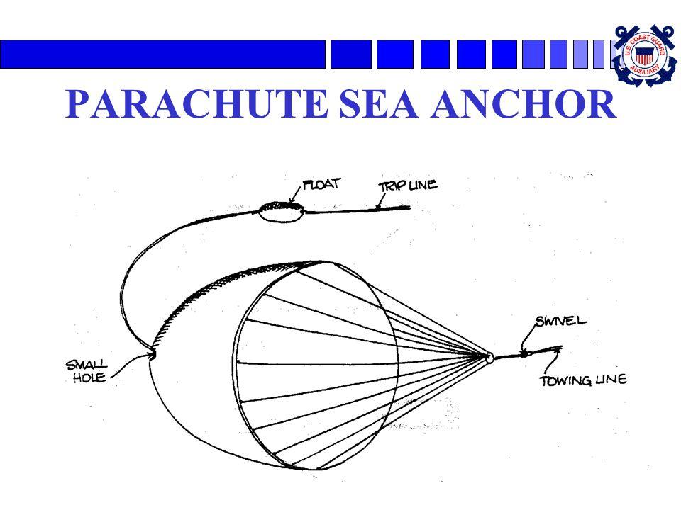 PARACHUTE SEA ANCHOR
