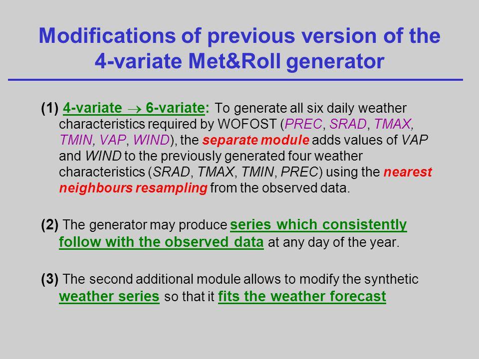 multi-station analysis: input table # multi-station analysis @idx soil crop wea lat lon RDMsol 001 EC1.NEW BAakc.cab DOKS 50.2 14.3 100 002 EC2.NEW BAakc.cab LEDN 50.9 17.2 80 003 EC3.NEW BAakc.cab ZABC 48.1 15.2 130 004 EC5.NEW BAakc.cab ZATC 49.9 16.1 120 005 EC2.NEW BAakc.cab KROM 51.1 16.2 70 006 EC1.NEW BAakc.cab HOLE 49.1 15.6 90.