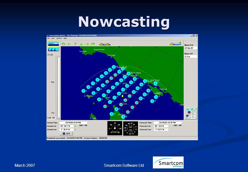 March 2007 Smartcom Software Ltd Nowcasting