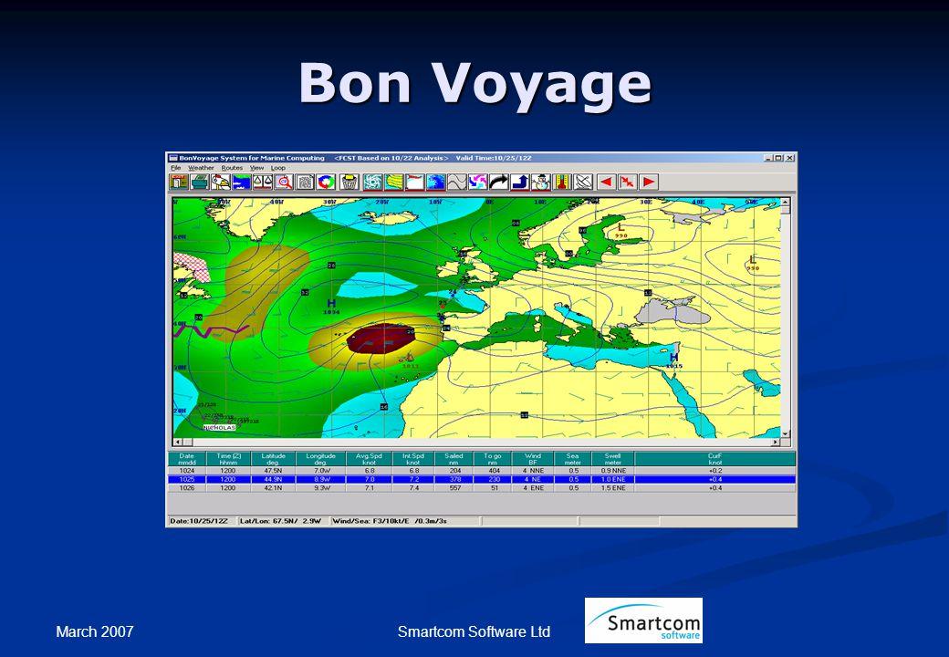 March 2007 Smartcom Software Ltd Bon Voyage