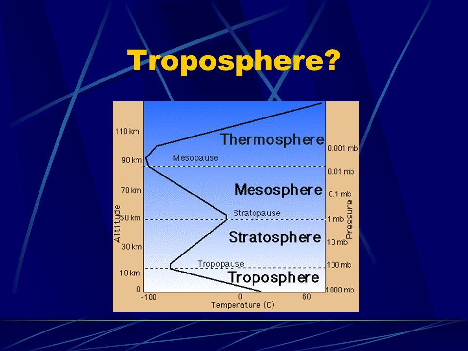 Troposphere?