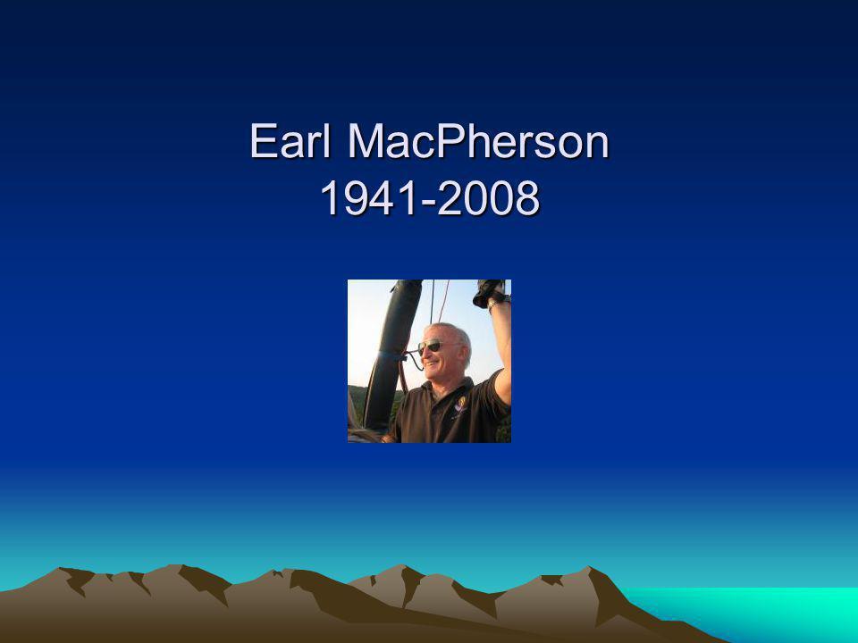 Earl MacPherson 1941-2008