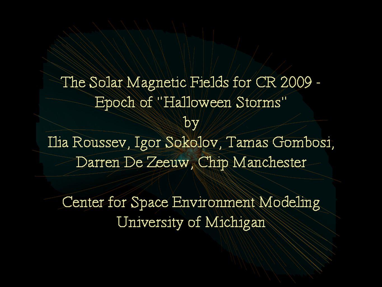 Center for Space Environment Modeling http://csem.engin.umich.edu