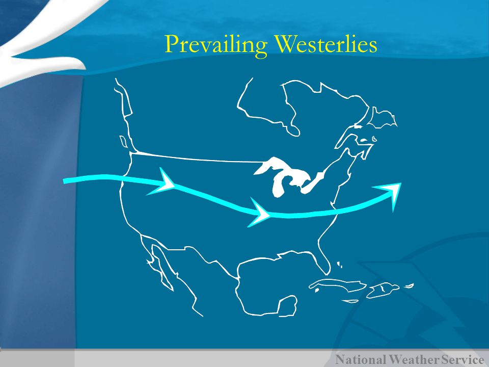National Weather Service Prevailing Westerlies