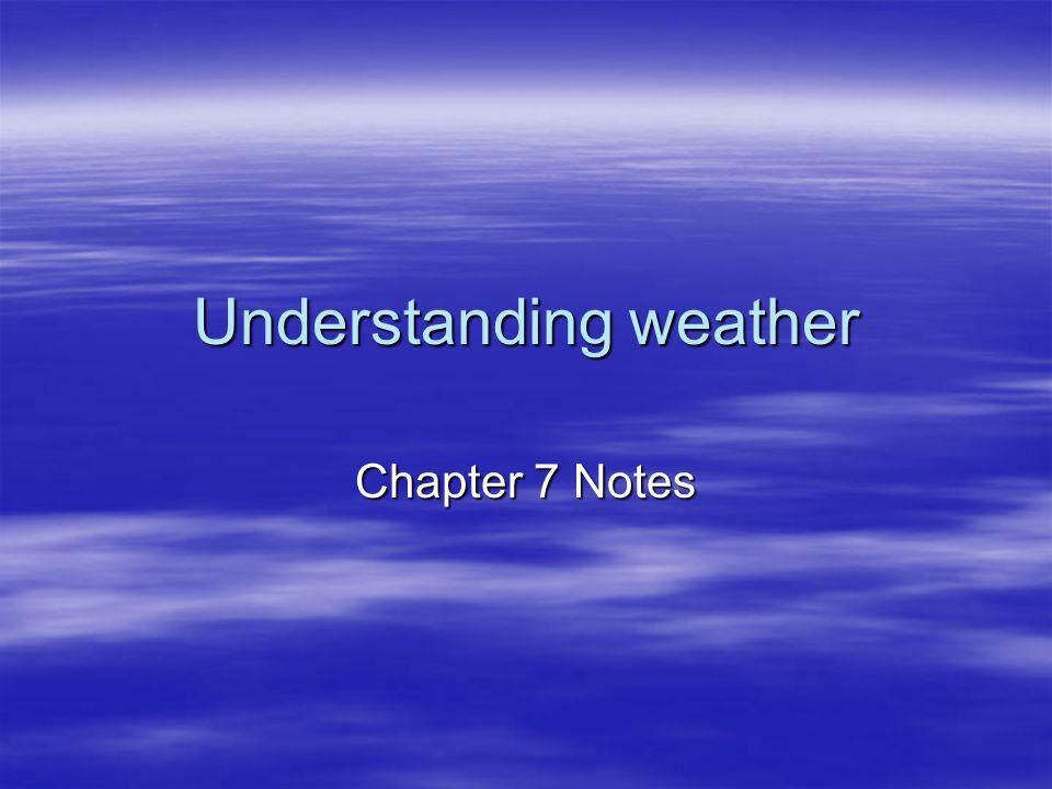 Weather-Forecasting Technology