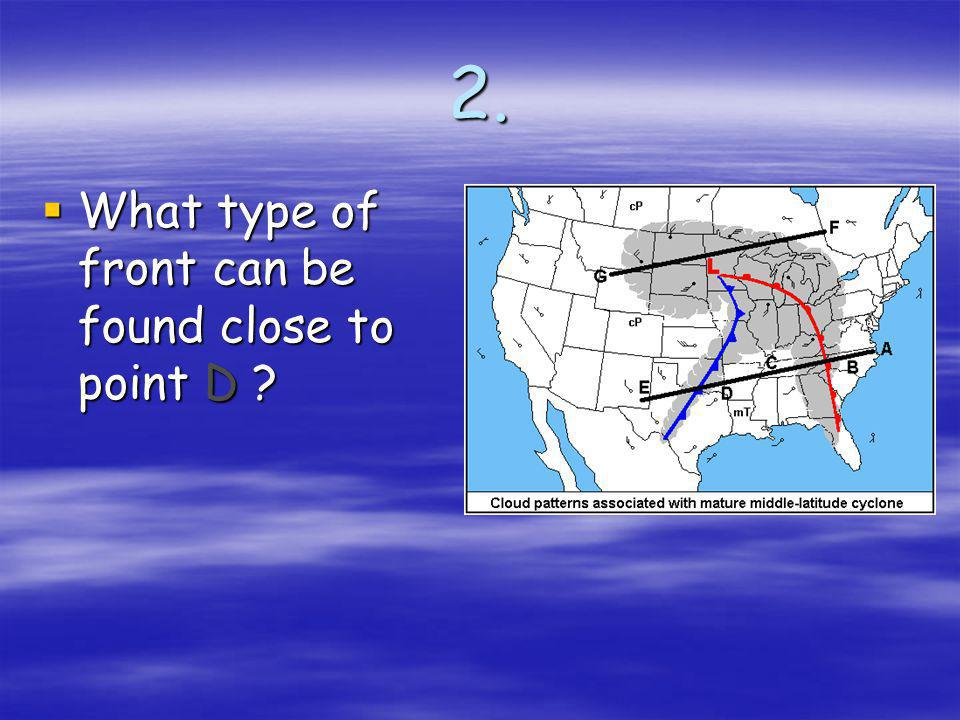 1. Winds in a low pressure system move _____ around the low Winds in a low pressure system move _____ around the low