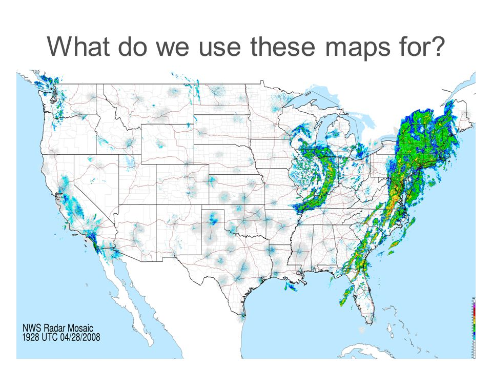 What do we use these maps for