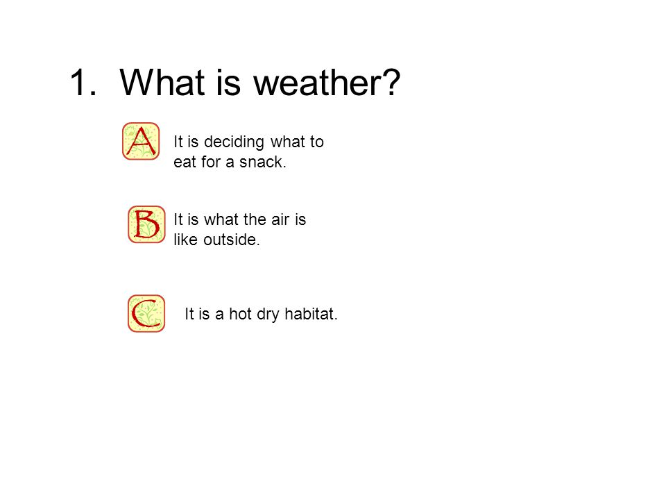 Weather An Interactive Powerpoint By Jane Ann Brown