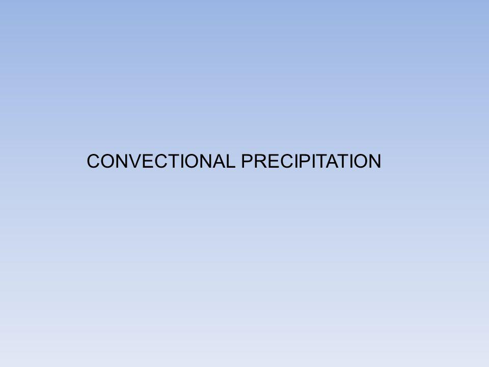 CONVECTIONAL PRECIPITATION
