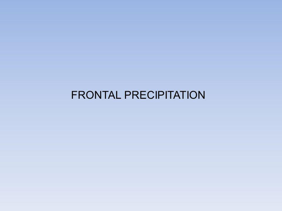 FRONTAL PRECIPITATION