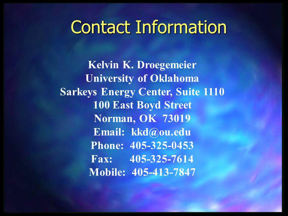 Contact Information Kelvin K.