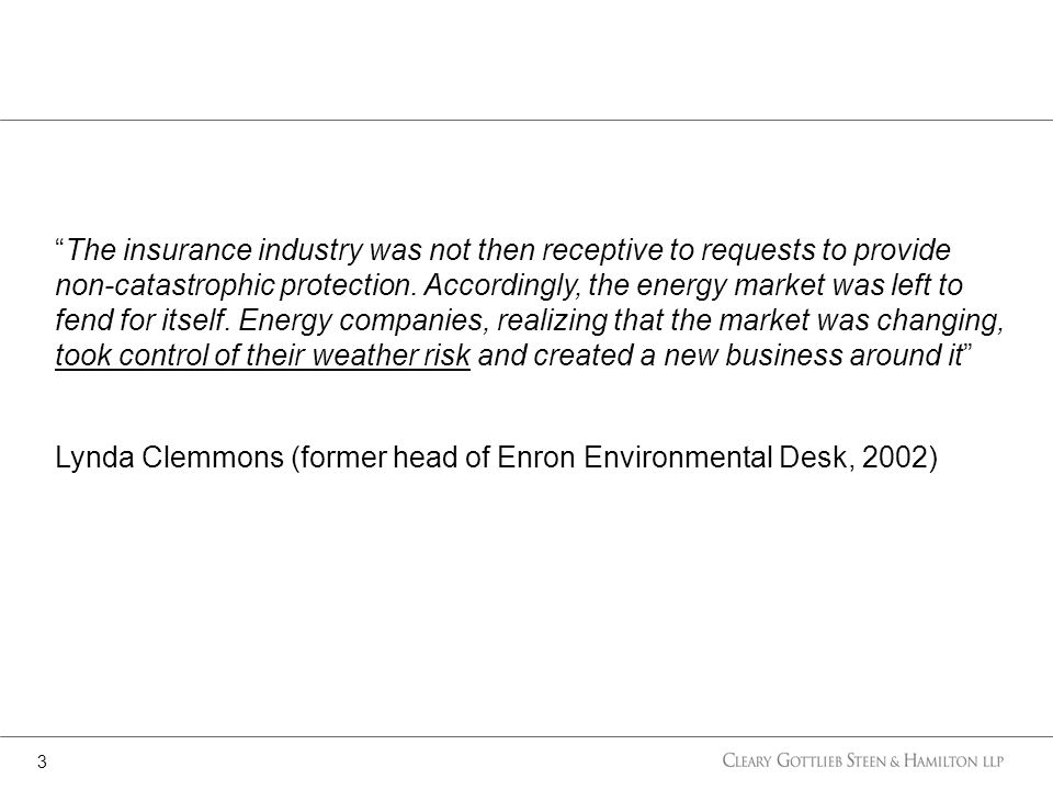 The insurance industry was not then receptive to requests to provide non-catastrophic protection.