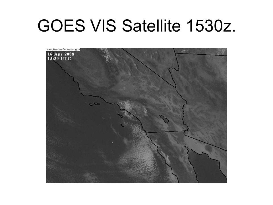 GOES VIS Satellite 1530z.