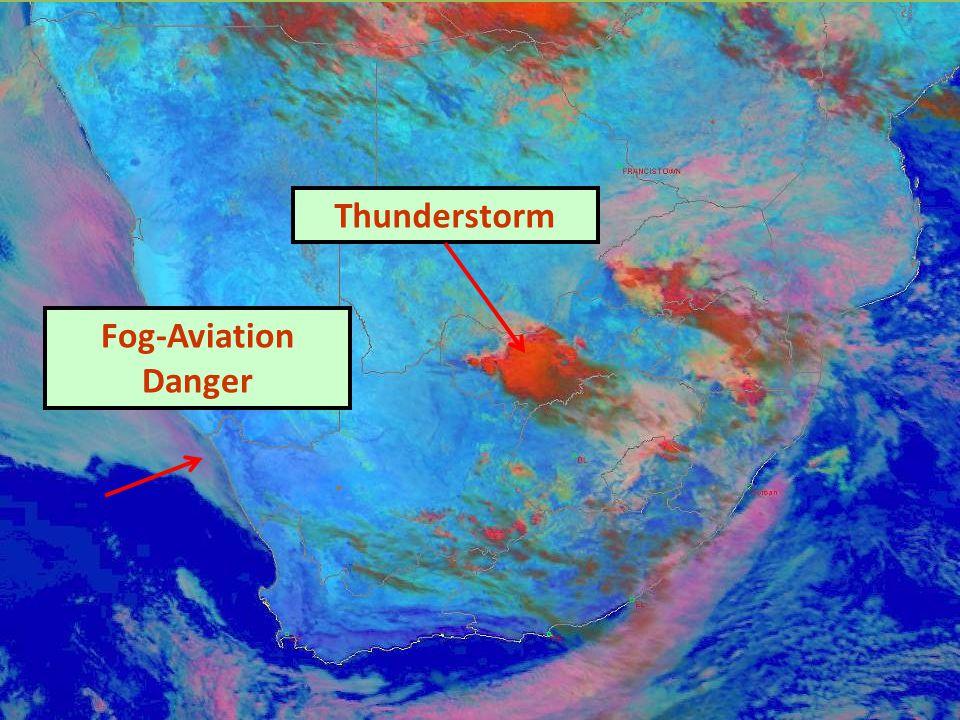 Thunderstorm Fog-Aviation Danger