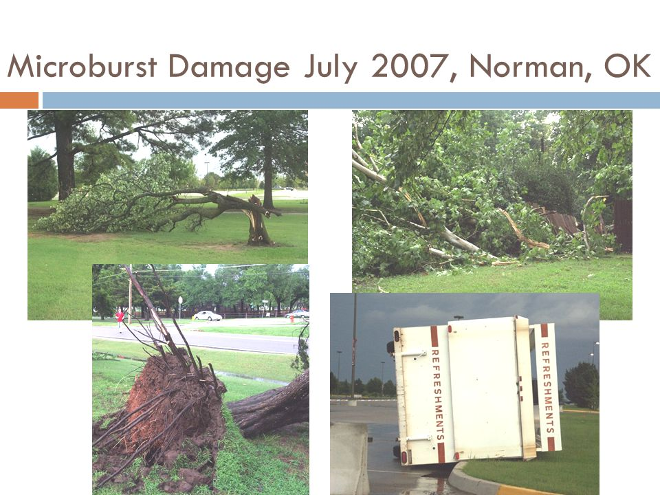 Microburst Damage July 2007, Norman, OK
