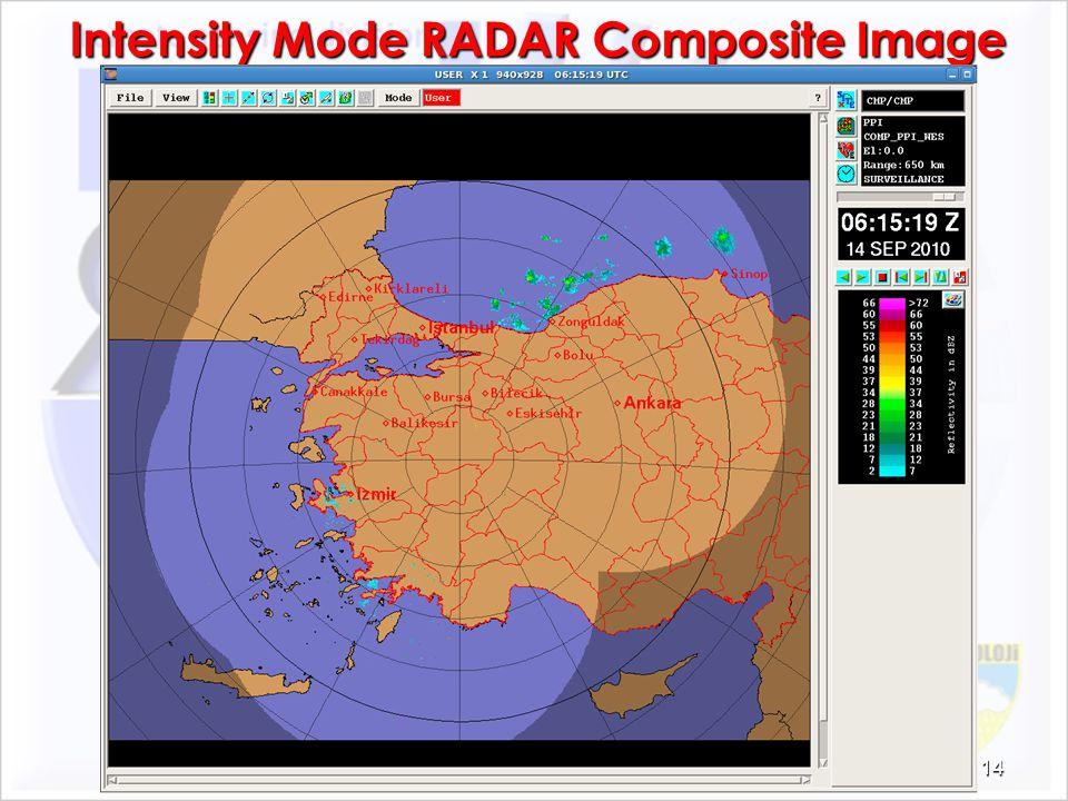 Intensity Mode RADAR Composite Image 14