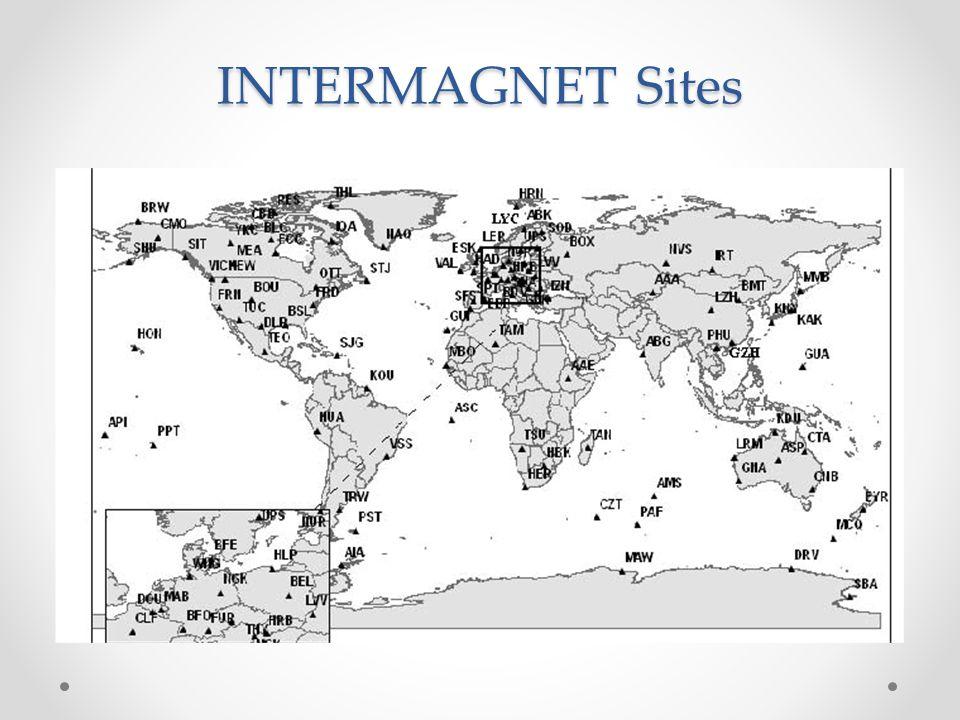 INTERMAGNET Sites