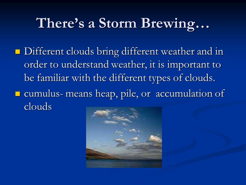 Rain, Rain, Go Away Rainfall in a thunderstorm can be very heavy.