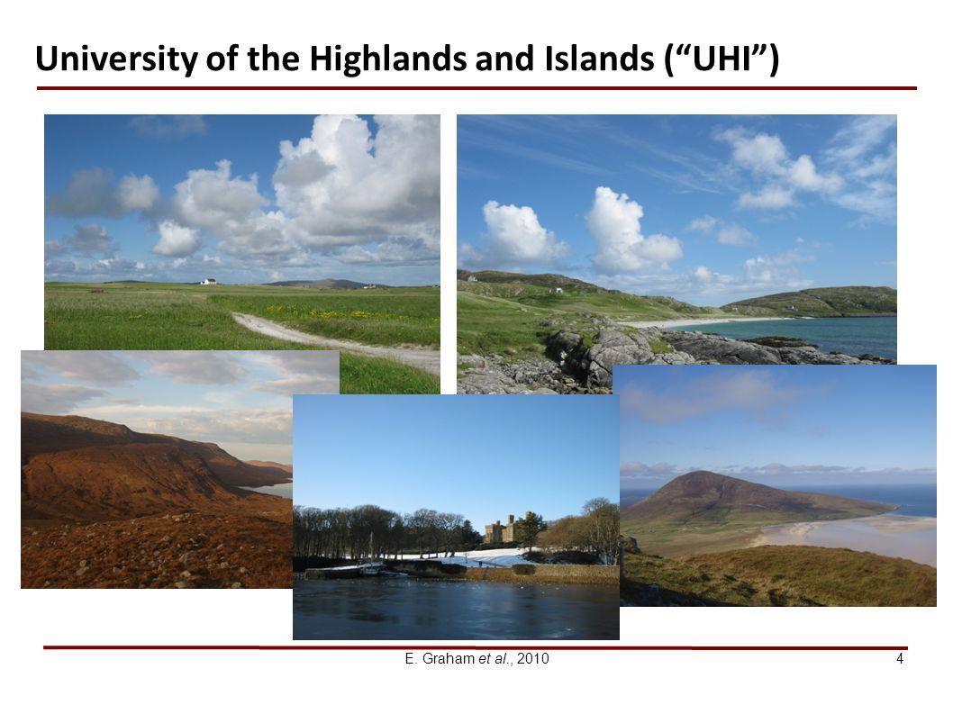 E. Graham et al., 20104 University of the Highlands and Islands (UHI)