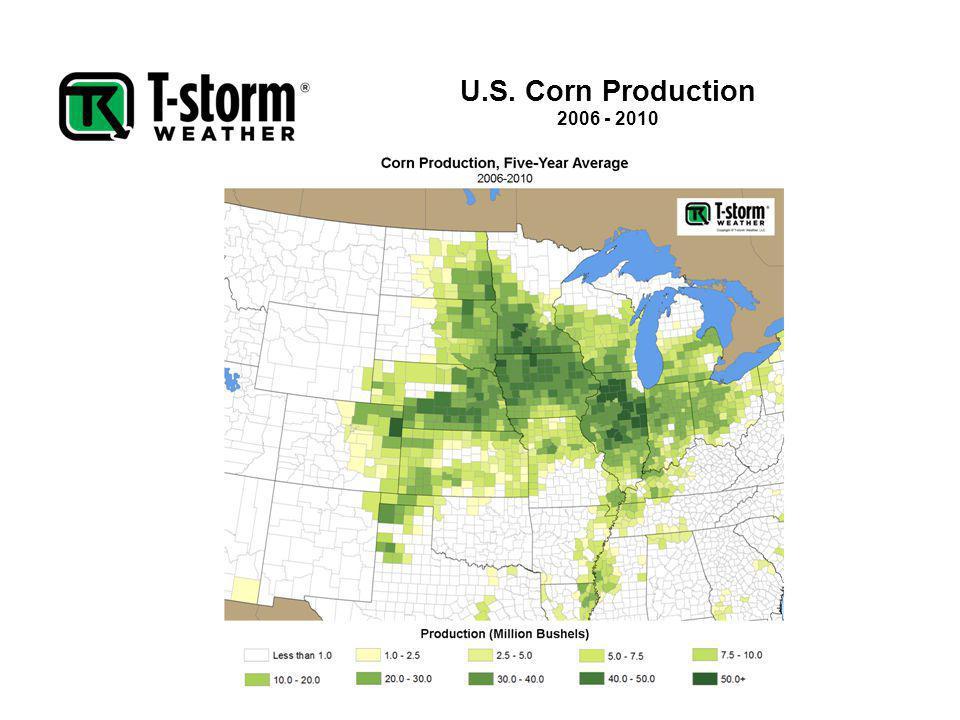 U.S. Corn Production 2006 - 2010
