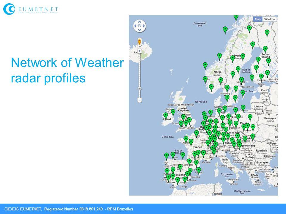 GIE/EIG EUMETNET, Registered Number 0818.801.249 - RPM Bruxelles Network of Weather radar profiles