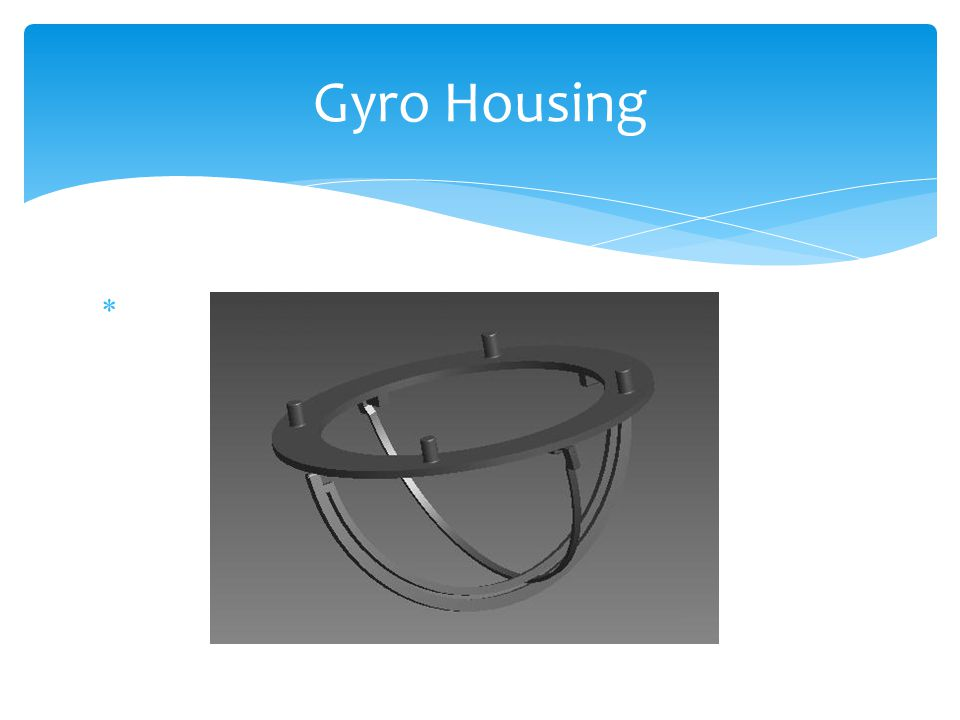 Gyro Housing
