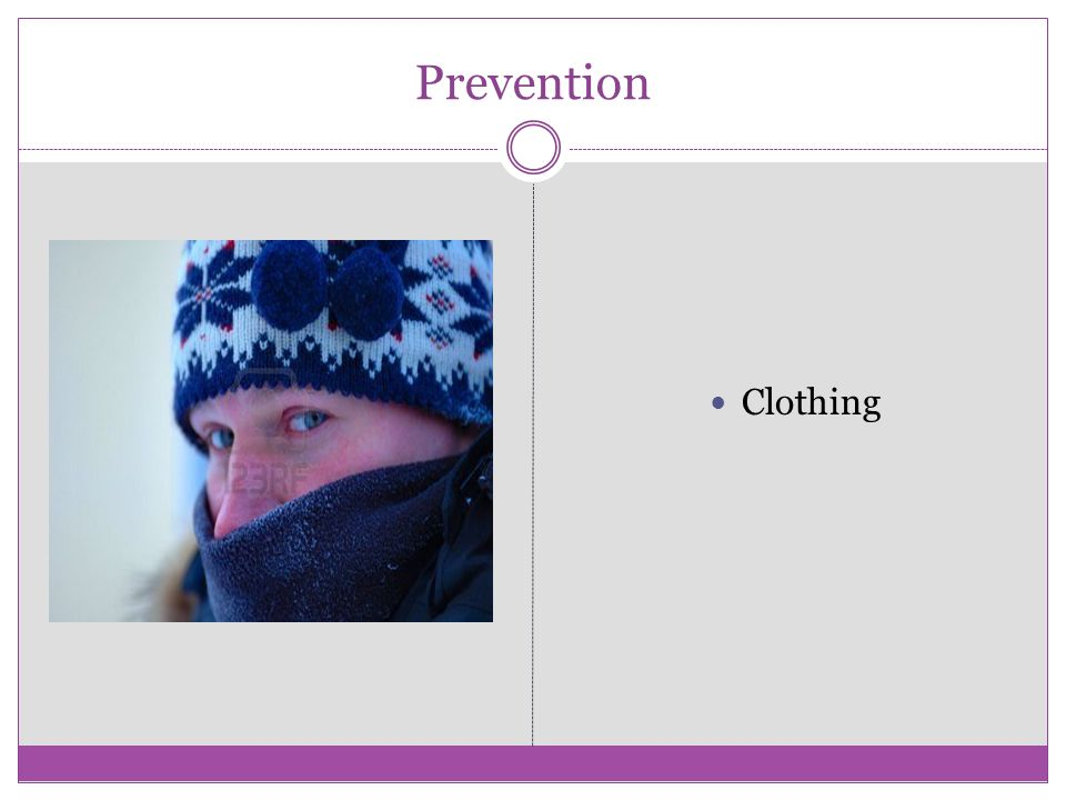 Prevention Clothing