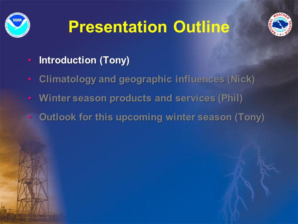 ** Winter Storm Prediction: Challenges Nick Tony Phil