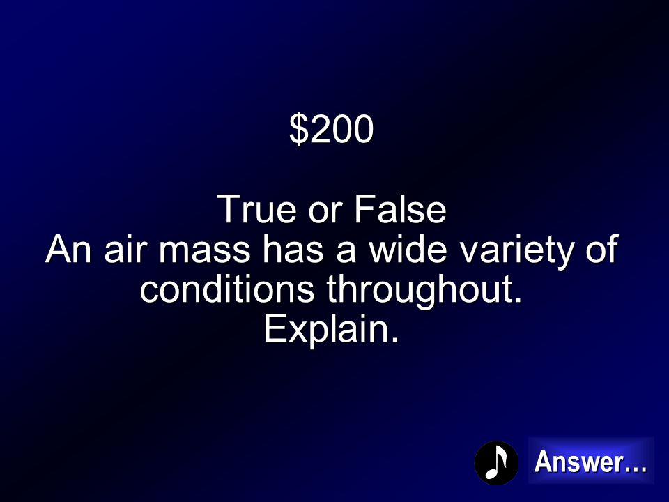 $100 Air Pressure 100